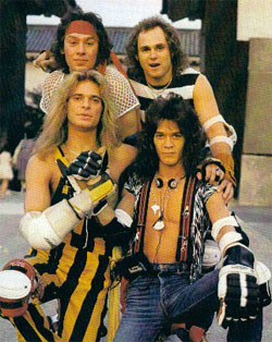 Van Halen, David Lee Roth